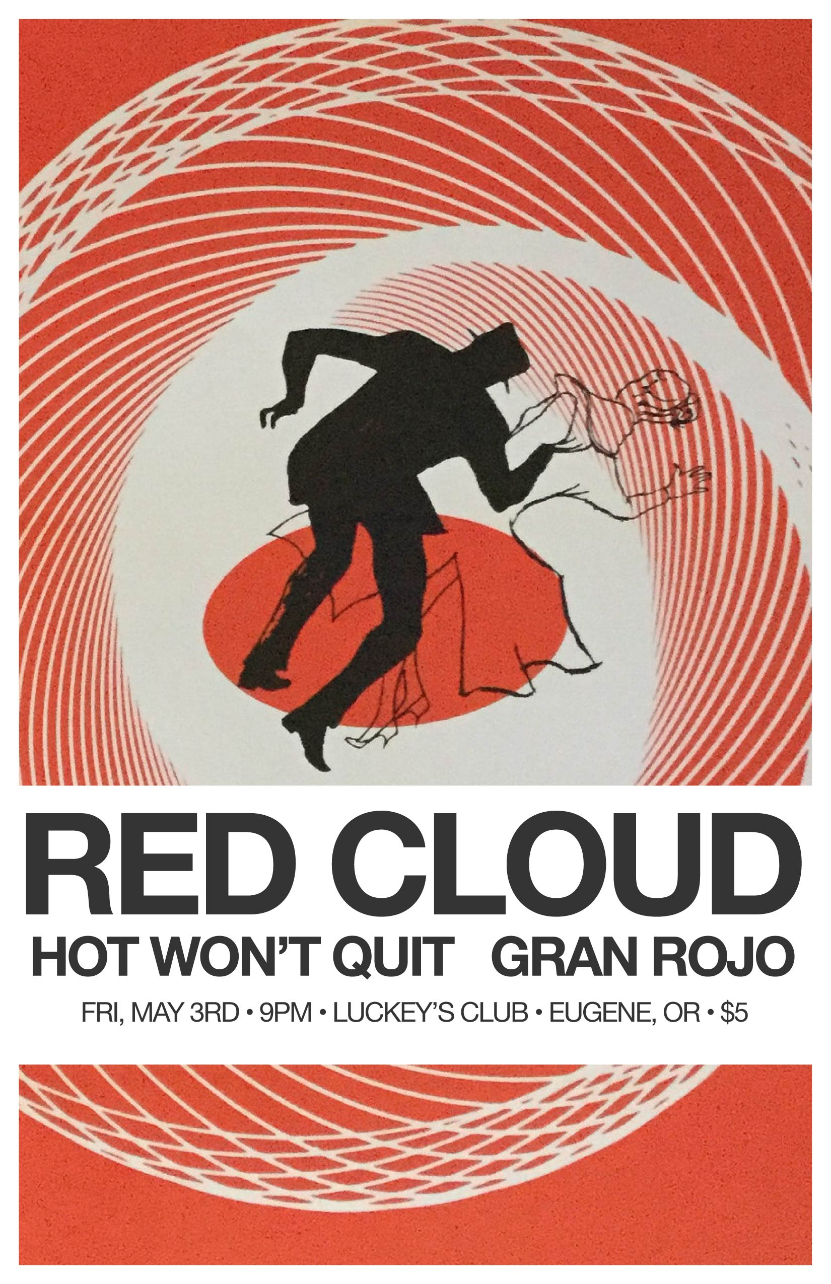 Red Cloud / Hot Wont Quit / Gran Rojo