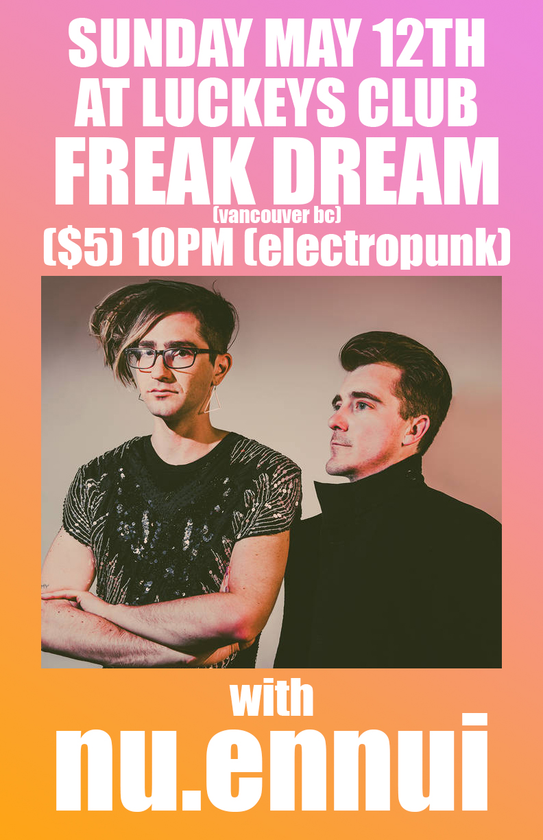 FREAK DREAM (bc) and nu.ennui