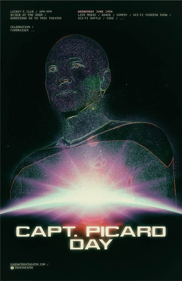 Captain Picard Day Celebration Fund Raiser