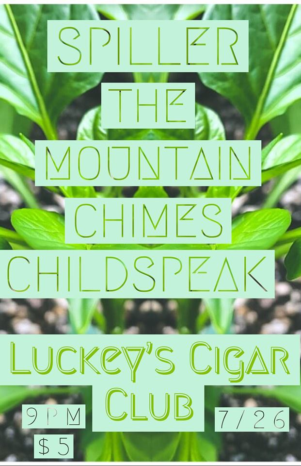 Spiller / Mountain Chimes / Childspeak
