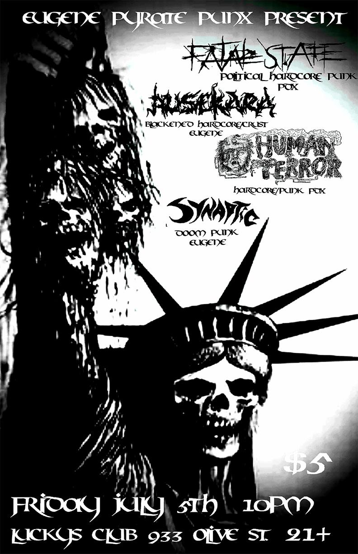 Synaptic / Fatal State / Ausekara / Human Terror