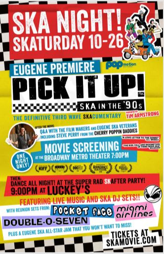 PICK IT UP Ska in the 90s AFTER PARTY