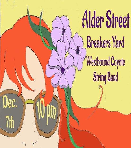A Benefit for Helen K with Alder Street / Breakers Yard / Westbound Coyote String Band