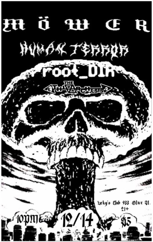 The Athiarchists / Human Terror / Mower / root_DIR